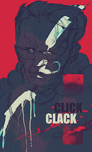 the click-clack man
